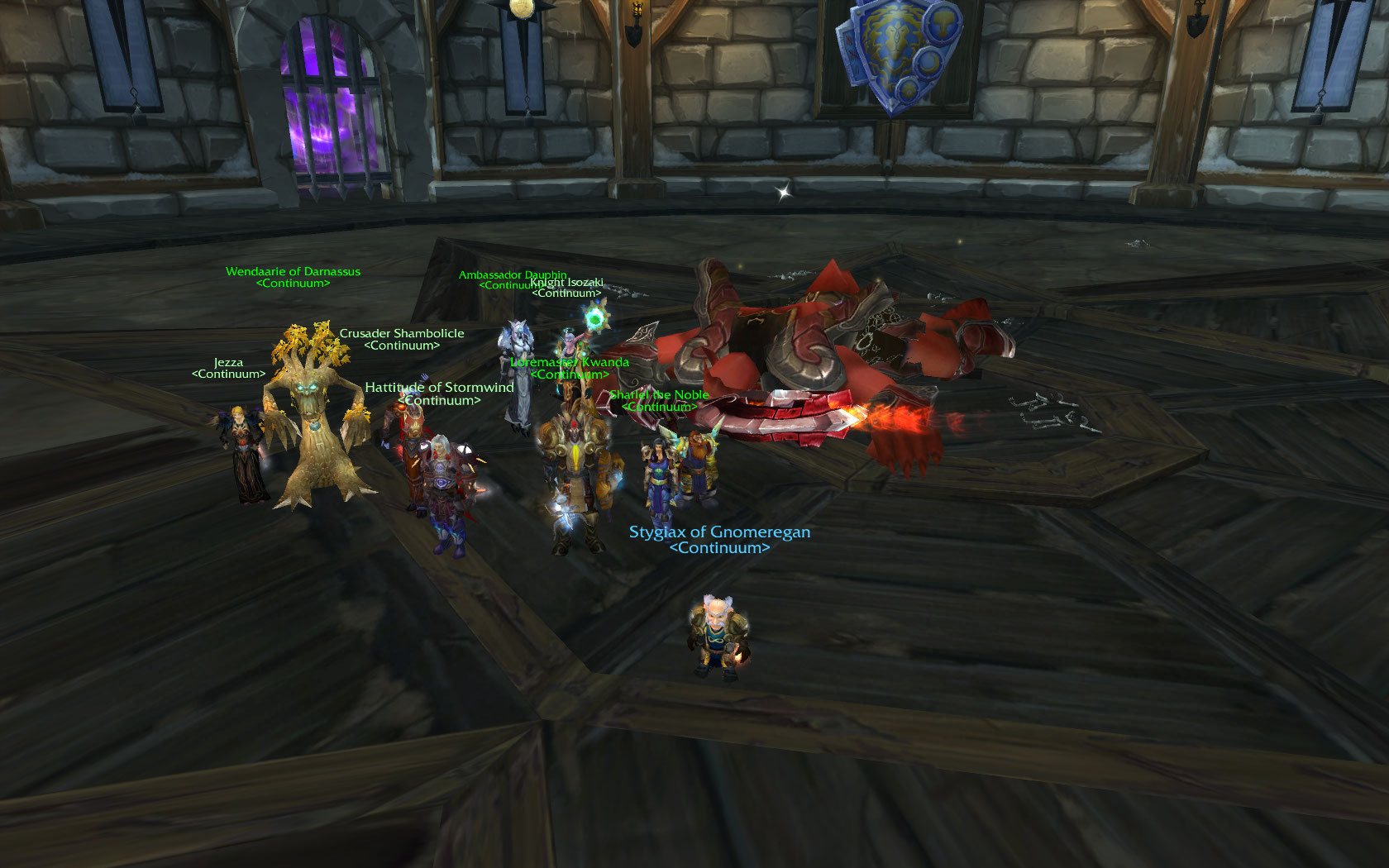 Lord Jaraxxus is dead. We celebrate